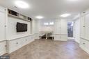 Lower Level Family Room - 1721 WILLARD ST NW, WASHINGTON