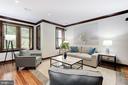 Family Room/Fourth Bedroom - 1721 WILLARD ST NW, WASHINGTON