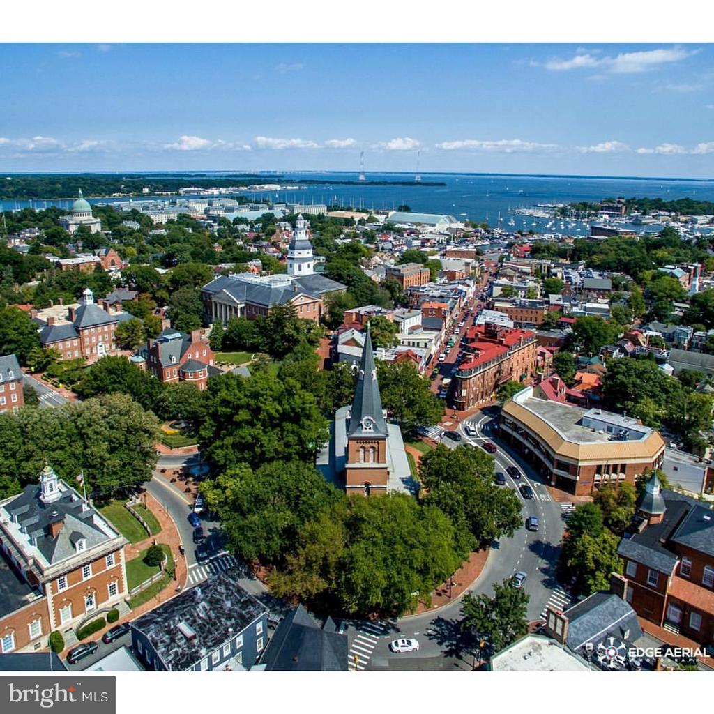 Aerial view of Downtown Annapolis - 169 KING GEORGE ST, ANNAPOLIS