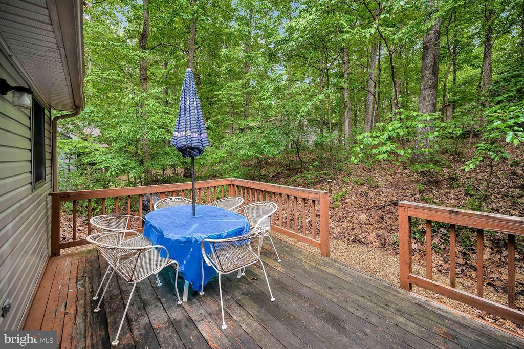 Rear Deck - 4617 LAKEVIEW PKWY, LOCUST GROVE