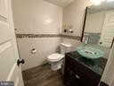 Updated half bath - 5508 KENDRICK LN, BURKE