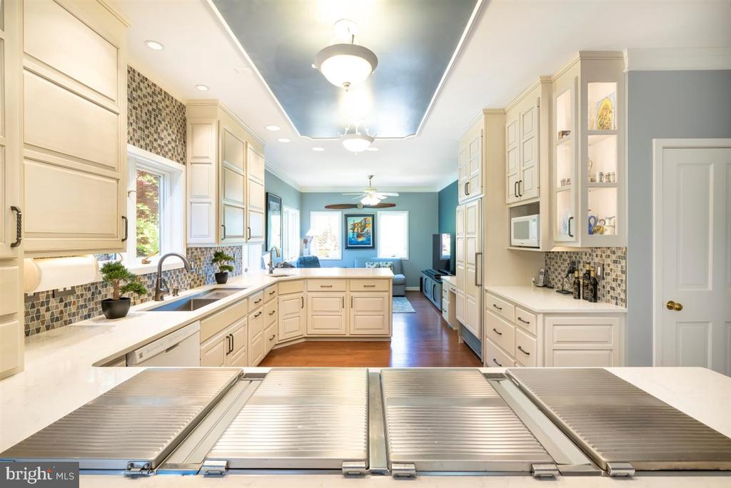 Gourmet Kitchen for the most discerning chef. - 6072 WHITE FLINT DR, FREDERICK