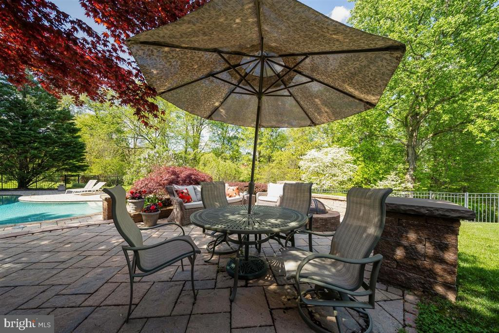 Delightful patio space - 6072 WHITE FLINT DR, FREDERICK