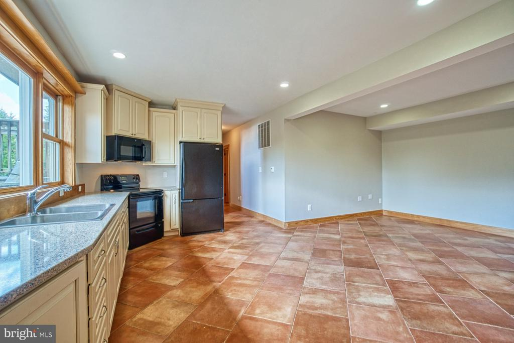 Fully Finished Basement Full Kitchen, Living Area - 40985 REDWING SONG LN, LOVETTSVILLE