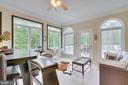 Sunroom opens to a 600 sq. ft. deck. - 1065 MOUNTAIN VIEW RD, FREDERICKSBURG