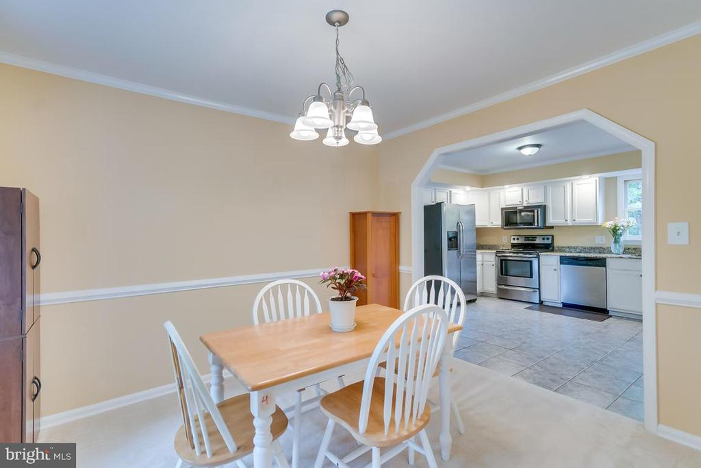 Separate Dining Room. - 1065 MOUNTAIN VIEW RD, FREDERICKSBURG