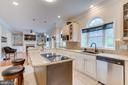 Gourmet kitchen with granite and stainless. - 1065 MOUNTAIN VIEW RD, FREDERICKSBURG