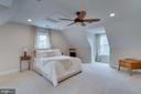 5th Bedroom on Upper Level. - 1065 MOUNTAIN VIEW RD, FREDERICKSBURG