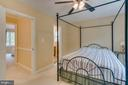 Master Bedroom in Guest House. - 1065 MOUNTAIN VIEW RD, FREDERICKSBURG