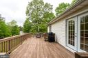 Large deck in rear of Guest House. - 1065 MOUNTAIN VIEW RD, FREDERICKSBURG