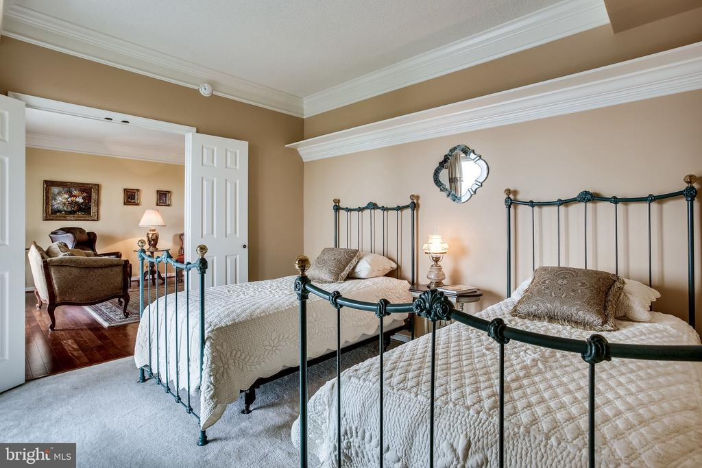 Bedroom two with tray ceilings - 19355 CYPRESS RIDGE TER #1118, LEESBURG