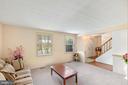Living room - 111 PEPPERIDGE PL, STERLING