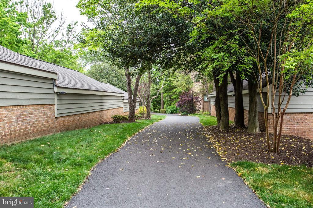Paths throughout - 11218 HARBOR CT, RESTON