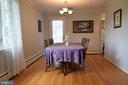 Dining room - 3001 GILLIS FALLS RD, MOUNT AIRY