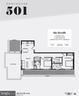 Floor Plan - 1016 17TH PL NE #501, WASHINGTON