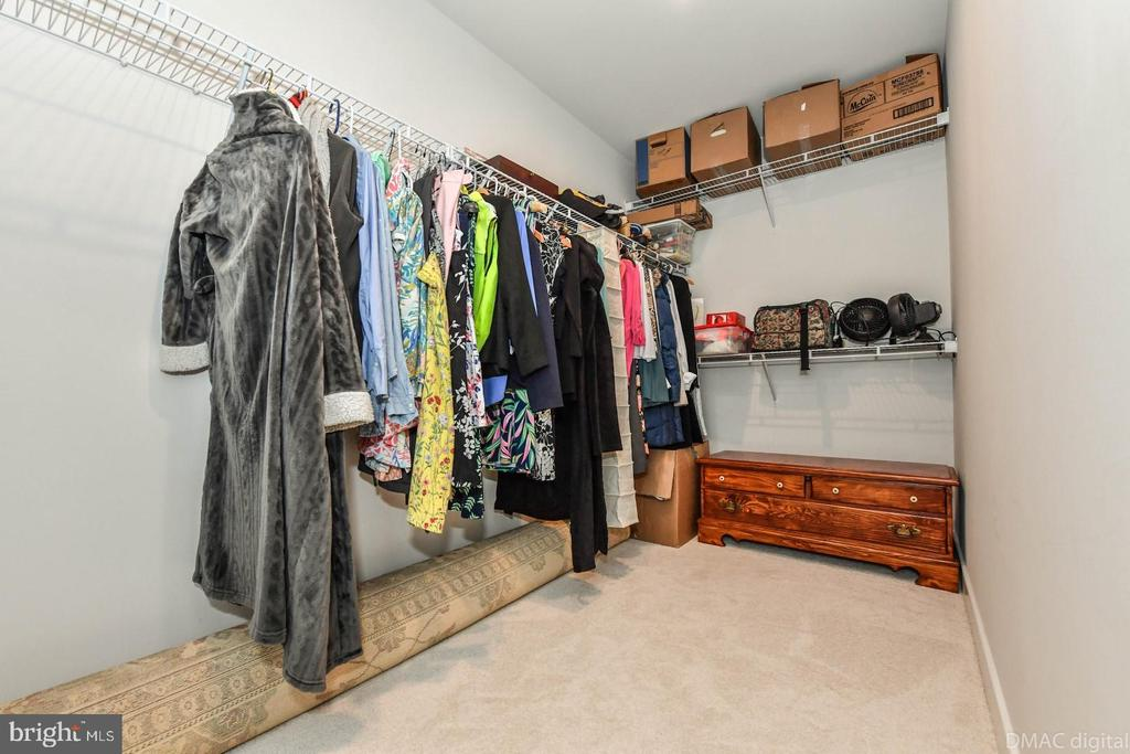Walk-in closet. - 9687 AMELIA CT, NEW MARKET