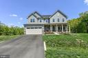 Home set back - large front yard. - 9687 AMELIA CT, NEW MARKET