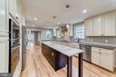 Massive gourmet kitchen - 5696 GAINES ST, BURKE