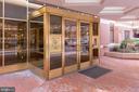 Emerson House lobby entrance - 2301 N ST NW #517, WASHINGTON