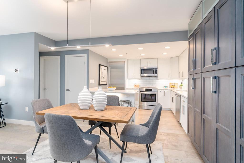 Open dining & expanded kitchen - 2301 N ST NW #517, WASHINGTON
