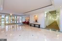 Marble lobby with front desk (desk not in photo) - 2301 N ST NW #517, WASHINGTON