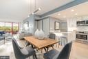 Open floor plan overlooking Rock Creek Park - 2301 N ST NW #517, WASHINGTON