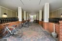 Safe bike area behind the  locked gates - 2665 PROSPERITY AVE #1, FAIRFAX