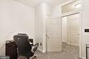 Home office with a door! - 2665 PROSPERITY AVE #1, FAIRFAX