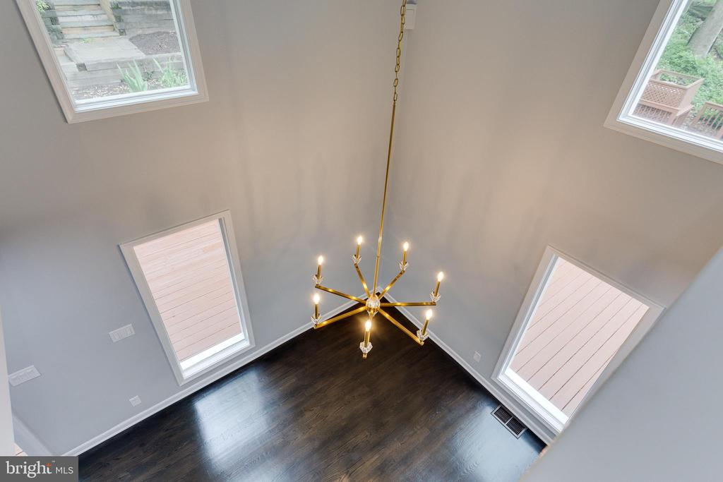 View from Upper Level into Breakfast Room - 5125 37TH ST N, ARLINGTON
