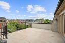 Terrace off Loft - 10846 SYMPHONY PARK DR, NORTH BETHESDA