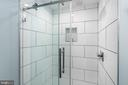 Stunning new shower in Bath #2 - 2301 N ST NW #517, WASHINGTON