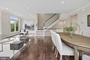 Living/Dining Room - 10846 SYMPHONY PARK DR, NORTH BETHESDA