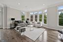 Living Room - 10846 SYMPHONY PARK DR, NORTH BETHESDA
