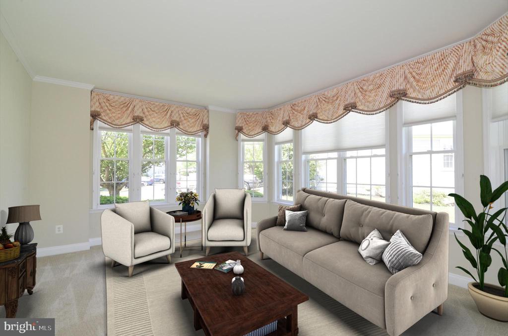 Living room - 6507 BOX ELDER LOOP, GAINESVILLE