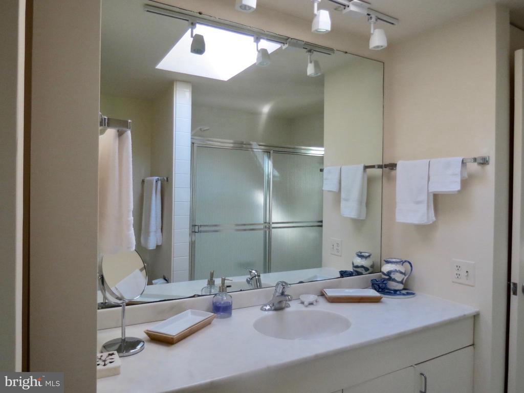 Upper Master Bath - 140 HORSESHOE HOLLOW LN, WASHINGTON
