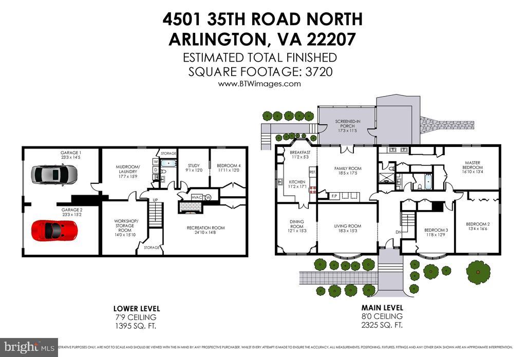 Floor plans - 4501 35TH RD N, ARLINGTON