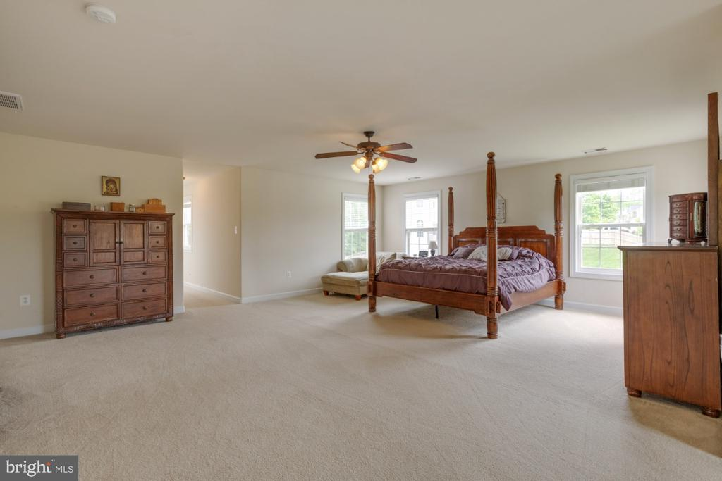 Master bedroom with windows & ots of light - 4 EASTER DR, STAFFORD