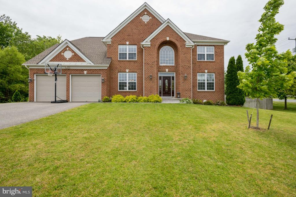 Stately Brick Front Colonial with Double Gables - 4 EASTER DR, STAFFORD