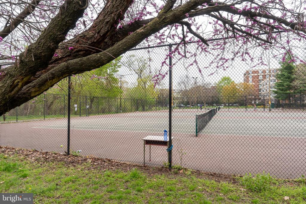 Tennis right outside the door - 2301 N ST NW #517, WASHINGTON