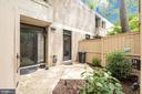 Front patio - 363 N ST SW #363, WASHINGTON