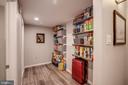 Storage area in lower level - 363 N ST SW #363, WASHINGTON
