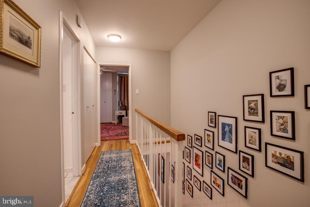 upstairs hallway between bedrooms - 363 N ST SW #363, WASHINGTON