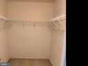 Master walk in closet. - 6587 KIERNAN CT, ALEXANDRIA