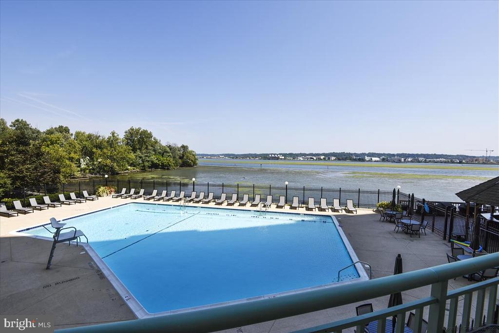 River Front pool with Swim lanes - 501 SLATERS LN #703, ALEXANDRIA
