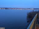 Evening on the balcony - 501 SLATERS LN #703, ALEXANDRIA