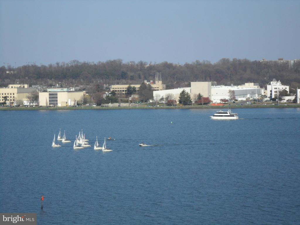 Views of boats and water taxi - 501 SLATERS LN #703, ALEXANDRIA