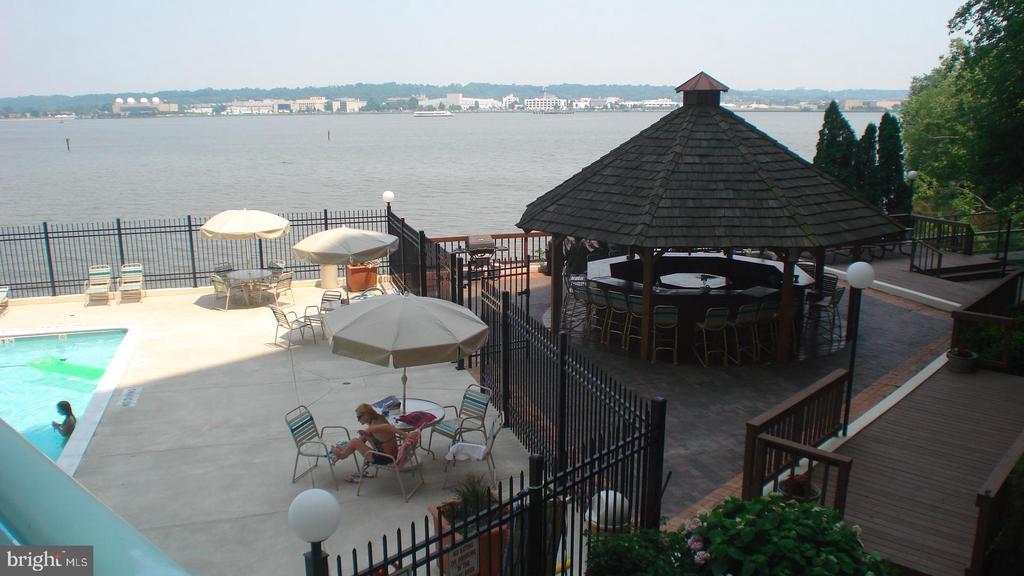 Tiki Bar Grill Area - 501 SLATERS LN #703, ALEXANDRIA