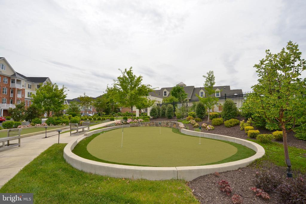 putting green - 20981 ROCKY KNOLL SQUARE #107, ASHBURN
