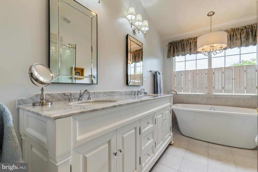 Fully Remodeled Luxury Master Bathroom - 19912 MIZNER TER, ASHBURN