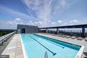 Odyssey Rooftop Pool view views of DC - 2001 15TH ST N #1004, ARLINGTON